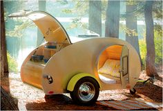 www.mypinkadvisor.com -Vintage Teardrop trailers