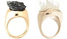 CosaFina Raw Jewelry Designers:  Karina Kuhary and Ninette Paloma