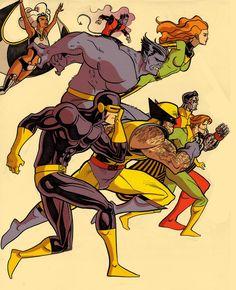 Retro X-Men by Carl Peterson