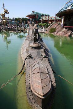 Disneyland Paris Nautilus with water