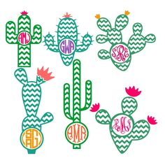 Chevron Cactus Cuttable Frame Cut File. Vector, Clipart, Digital Scrapbooking Download, Available in JPEG, PDF, EPS, DXF and SVG. Works with Cricut, Design Space, Sure Cuts A Lot, Make the Cut!, Inkscape, CorelDraw, Adobe Illustrator, Silhouette Cameo, Brother ScanNCut and other compatible software.