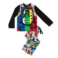 Marvel Avengers Assemble Pyjamas For Kids - Visit to grab an amazing super hero shirt now on sale!