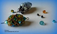 Gorgeous Pendant TutorialHi there,I\\\'m happy to see you again. Today I have something very interesting for you. Today\\\'s jewelry piece is made with different-sized beads. You can wear it as a pendant.Pic.1We will need:Beading thread (Get it here)Needles for beading (Get it here)Scissors (Get it here)Beading board (Get it here)Pic.2Round ...