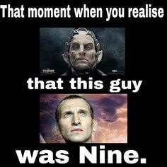 Nine is a dark elve king...