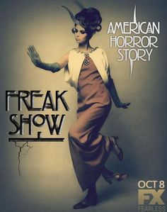 american horror story freak show! I can not wait!!! Best show of all time!