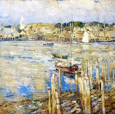 Gloucester (Frederick Childe Hassam) 1899