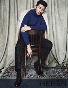 Cha Seung Won - Heren Magazine January Issue '15 Korean Male Models, Korean Men, Asian Men, Asian Actors, Korean Actors, Cha Seung Won, Into The Fire, Celebs, Celebrities