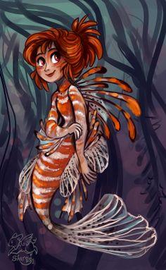 Roxanne the mermaid