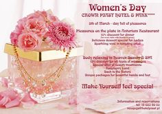 Women's Day in Crown Piast Hotel & Park ***** #womensday #specialday #enjoyyourself #special #women
