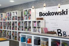 Bookowski - книжный магазин в Польше | Все самое интересное о дизайне, архитектура, дизайн интерьера, декор, стилевые направления в интерьере, интересные идеи и хэндмейд