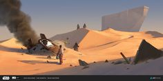 ILM Art Department Challenge 2016, Colas Gauthier's submission