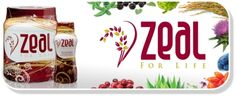 Zeal for Life Wellness Formula comes in a 30 day canister and single serving sample size bottles. #ZealWellness