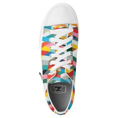 Modern Geometric-1 Low Tops | Zazzle.com Santa Fe Springs, Kids Sneakers, Custom Sneakers, Your Style, Pairs, Unisex, Shoe Bag, Modern, Products