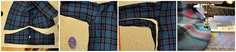 Big flannel shirt refashion  other tut's:  http://cottonandcurls.blogspot.com/p/diy-wardrobe-tutorials-on-refashions.html