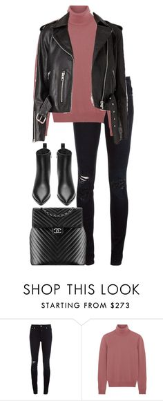 """Untitled #2963"" by elenaday on Polyvore featuring Closed, Bottega Veneta, Chanel and Acne Studios"