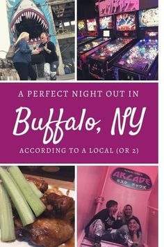 The Perfect Night Out in Buffalo New York According to a Local (or Great Night, Night Out, Weekend Packing List, New York Travel Guide, Skee Ball, Presidential History, City Roller, Buffalo New York, Fun Events