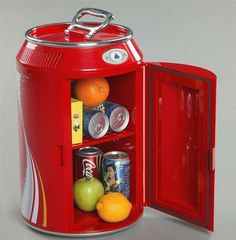 Hot sell can shape 11L mini bar fridge with CE, RoHS, ETL, View mini bar fridge, GW custom mini fridge Product Details from Shenzhen Giwox Technology Co., Ltd. on Alibaba.com