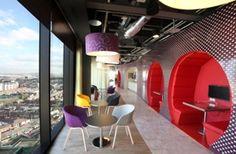 Google office interior shoot Dublin 2012 Ireland