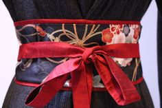 Multicolor Asian Oriental Print LUXE Dupioni silk   Cranes and cherry by MyDivineBoutique @ Etsy $45