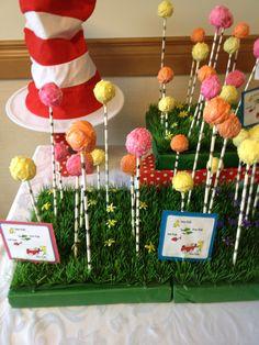 dr seuss cake pops   truffula tree   3graceseventplanning