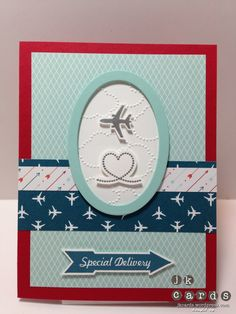 Stampin' Up!, Pals Paper Arts 157, Sent with Love, Sent with Love DSP, Ovals Collection Framelits, Cloudy Day Embossing Folder, Silver Stampin' Emboss Powder