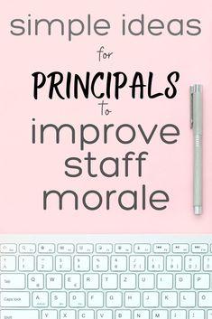 School Staff, School Counselor, High School, Teacher Morale, Staff Morale, School Leadership, Educational Leadership, Dean Of Students, Morale Boosters