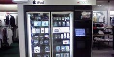 La máquina expendedora de iPads está en Estados Unidos http://j.mp/1bvUteZ |  #Educación, #EstadosUnidos, #IPads, #MacBooks, #Máquina, #Tecnología