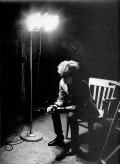 """Dylan in The Dark"" by Andy Warhol"
