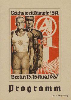 Programm Reichswettkämpfe der SA, Berlín, 1937