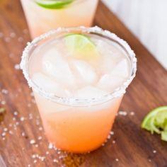 Guava Margaritas- substitute 4oz guava paste for the sugar