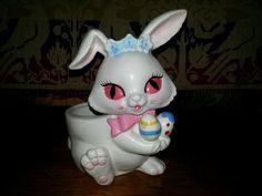 Vintage-Lefton-Easter-Bunny-Planter-2962