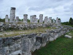 Mayan Ruins El Rey Cancun Mexico   Zona Arqueologica