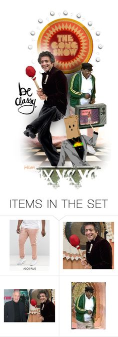 """Chuck Barris - What a Guy!"" by ellen-hilart ❤ liked on Polyvore featuring art"