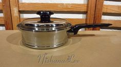 West Bend Lifetime Stainless Steel T304CC 1 1/2 Quart Saucepan with Lid Cookware #Lifetime