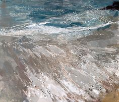 Ruth Stage: Cornish Sea with Children Swimming, Campden Gallery,