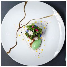 Chef Xavier Boyer of the L'Atelier de Joel Robuchon (london) .