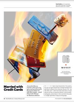 """""""Master Your Money"""" from Men's Health, Jan/Feb Read it on the Texture app-unlimited access to top magazines. Magazine Design, Magazine Layouts, Editorial Layout, Editorial Design, Identity, Travel Money, Graphic, Magazines, Typo"""