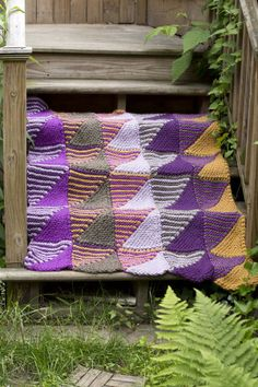 Image of Mountain Mists Afghan love the pattern - should be able to crochet similarly