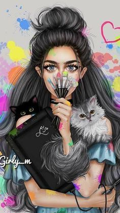 girly m photos girly-m love girly-m 2018 girly-m hijab girly m couple girly_m 2018 art wallpapers gilly mym art wallpaper m girly wallpapers fashion w… – Best Friends Forever Girly M, Cartoon Kunst, Cartoon Art, Sarra Art, Cute Girl Drawing, Girly Drawings, Digital Art Girl, Girl Cartoon, Cute Wallpapers