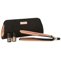 Shop ghd's Copper Luxe Platinum Styler Premium Gift Set at Sephora. Nails Inc, Curly Hair Care, Curly Hair Styles, Styler Ghd, London Nails, Nordstrom, Hair Tools, Flat Iron, Sunglasses Case