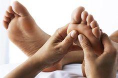 Auch Ihre Füße lassen sich gerne verwöhnen - Pediküre im Hotel Weisses Rössl