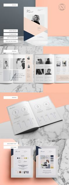 Sofia Pitch Pack Templates (Proposal, Resume, Brief, Invoice, etc) #proposal #templates #brochure #resume #resumetemplate #indesign