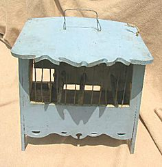Antique Canary Song Cage (Image1)