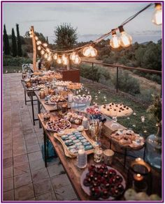 rustic country wedding food ideas for small weddings wedding reception backyard 23 Stunning Small Wedding Ideas on a Budget - Oh Best Day Ever Rustic Wedding Reception, Wedding Backyard, Reception Ideas, Wedding Dinner, Small Wedding Receptions, Wedding At Home, Potluck Wedding, Wedding Ceremony, Backyard Wedding Lighting
