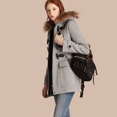 Burberry womens duffle coat