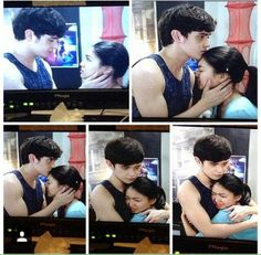 on the wings of love ~~ abscbn and dreamscape production with nadine lustre and james reid. Human Body Organs, James Reid, Nadine Lustre, Jadine, Just Friends, Couple Posing, Best Couple, Cute Couples, Behind The Scenes