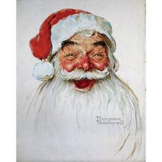Santa Clause by Norman Rockwell