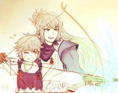 Takumi and Kisaragi