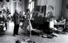 """Picasso, atelier 'La Californie"""", Cannes, 1956"""