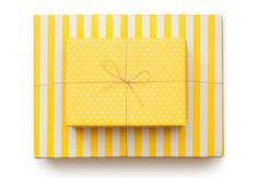 Sugar Paper Reversible Wrapping Paper – Sunshine Yellow